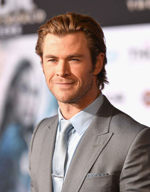 Chris Hemsworth appears at the &#39;Thor: The Dark World&#39; premiere in Los Angeles, California on Nov. 4, 2013.  <span class=meta>(Alberto E. Rodriguez &#47; Disney)</span>