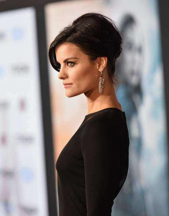 Jaimie Alexander appears at the 'Thor: The Dark World' premiere in Los Angeles, California on Nov. 4, 2013.