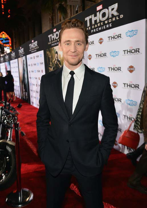 "<div class=""meta ""><span class=""caption-text "">Tom Hiddleston appears at the 'Thor: The Dark World' premiere in Los Angeles, California on Nov. 4, 2013.  (Alberto E. Rodriguez / Disney)</span></div>"