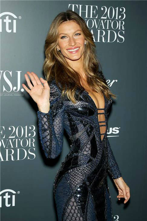 Gisele Bundchen appears at WSJ Magazine&#39;s &#39;2013 Innovator Awards&#39; in New York City on Nov. 6, 2013. <span class=meta>(Marion Curtis&#47;Startraksphoto.com)</span>