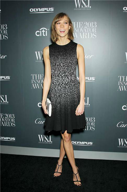 "<div class=""meta image-caption""><div class=""origin-logo origin-image ""><span></span></div><span class=""caption-text"">Karlie Kloss appears at WSJ Magazine's '2013 Innovator Awards' in New York City on Nov. 6, 2013. (Marion Curtis/Startraksphoto.com)</span></div>"