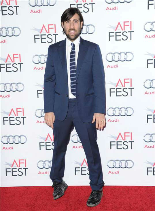 Jason Schwartzman appears at the 'Saving Mr. Banks' screening held at TCL Chinese Theatre in Hollywood on Nov. 07, 2013.