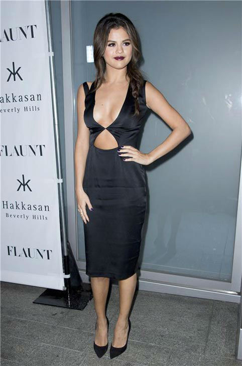 Selena Gomez appears at the Flaunt Magazine November issue party in Los Angeles on Nov. 7, 2013. <span class=meta>(Lionel Hahn&#47;AbacaUSA&#47;startraksphoto.com)</span>