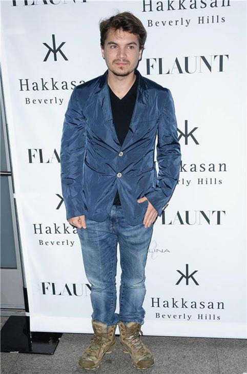 Emile Hirsch appears at the Flaunt