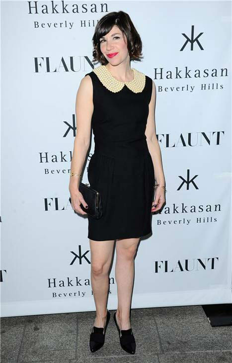 "<div class=""meta ""><span class=""caption-text "">Carrie Brownstein appears at the Flaunt Magazine November issue party in Los Angeles on Nov. 7, 2013. (Sara De Boer/startraksphoto.com)</span></div>"