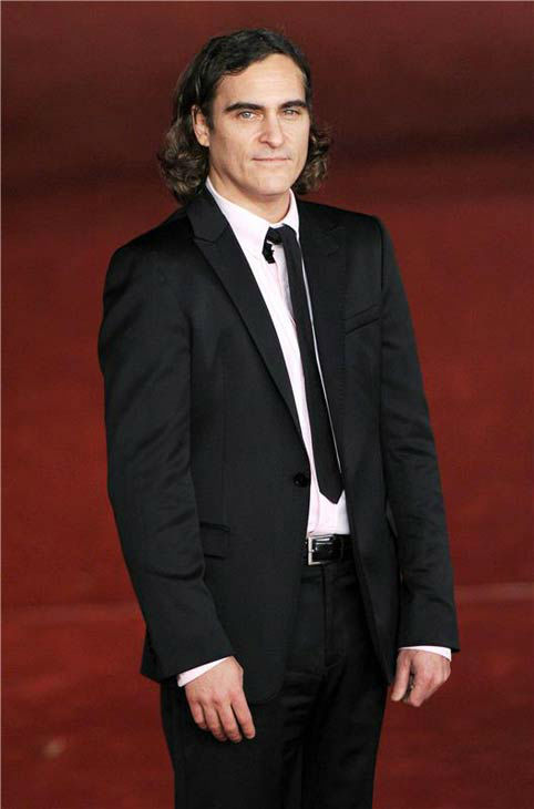 Joaquin Phoenix appears at the premiere of &#39;Her&#39; at the 8th annual Rome Film Festival on Nov. 10, 2013. <span class=meta>(Eric Vandeville &#47; startraksphoto.com)</span>