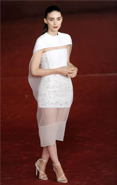 Rooney Mara appears at the premiere of &#39;Her&#39; at the 8th annual Rome Film Festival on Nov. 10, 2013. <span class=meta>(Eric Vandeville &#47; startraksphoto.com)</span>