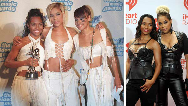 "<div class=""meta image-caption""><div class=""origin-logo origin-image ""><span></span></div><span class=""caption-text"">TLC began out of Atlanta, Georgia, consisting of Tionne 'T-Boz' Watkins, Rozonda 'Chilli' Thomas and Lisa 'Left Eye' Lopes. The girl group, known for their tomboy-style clothing and blend of funk, hip-hop and rap, rose to prominence with the album 'Ooooooohhh.. On the TLC Tip,' which featured the hit singles 'What About Your Friends' and 'Baby-Baby-Baby.'  The group followed up their successful debut with two more hit albums, 1994's 'CrazySexyCool' and 1999's 'FanMail.' The group, however, famously clashed with management, producing partners, and often each other, with members of the group seeking contract renegotiations and feelings of resentment towards each other for the direction of their music. Despite much infighting, the group went onto become one of the most successful girl groups of all time, thanks to hit singles such as 'Watefalls,' 'Creep,' 'No Scrubs' and 'Unpretty.'   TLC's 'Left Eye' was tragically killed in a car accident in Honduras in 2002. Following her death, the remaining members of the group released the album '3D,' followed by several greatest hits compilations. 'Chilli' and 'T-Boz' went onto star in several reality shows before reuniting in 2013 for the VH1 movie 'CrazySexyCool: The TLC Story.' The film was a ratings hit and was accompanied by the compilation album, '20,' marking 20 years since the group was formed.   (Pictured: Left -- TLC appears at the 1995 MTV Video Music Awards in Los Angeles, California on Sept. 30, 1995. Right -- TLC appears at the iHeartRadio Music Festival in Las Vegas, Nevada on Sept. 20, 2013.)  (Frank Olsen / Lionel Hahn / abusa / startraksphoto.com)</span></div>"