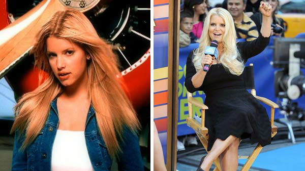 "<div class=""meta image-caption""><div class=""origin-logo origin-image ""><span></span></div><span class=""caption-text"">Jessica Simpson was compared extensively to fellow blonde pop divas Britney Spears and Christina Aguilera when she emerged onto the scene in 1999 with the song 'I Wanna Love You Forever.' The song was a hit on the Billboard Hot 100 chart, however the singer's debut album, 'Sweet Kisses,' failed to strike the same success. She released the follow up single and album, both titled 'Irresistible,' in 2001 to similar mixed results.   It was not until 2003 that Simpson's star rose to new heights, with the launch of her MTV reality show 'Newlyweds: Nick and Jessica' with then-husband and 98 Degrees frontman Nick Lachey. The show chronicled the couple's new life together as a married couple, featuring Simpson in several ditzy moments, including questioning if 'Chicken of the Sea' tuna was chicken or, in fact, fish. She also released the album 'In This Skin' in 2003, featuring the hit single 'With You.' Simpson and Lachey divorced in November 2005.    Simpson tried her hand at acting, starring in films such as 'The Dukes of Hazzard' and 'Employee of the Month.' The singer has also served as a judge on the fashion competition show 'Fashion Star' on NBC.  Simpson's fashion empire, encompassing clothing, shoes and beauty products, has amassed $1 billion in annual sales, becoming the first celebrity brand to reach this peak. Simpson became engaged to retired NFL player Erick Johnson in 2010. The couple have two children together, a daughter named Maxwell and a son named Ace.   (Pictured: Left -- Jessica Simpson appears in a still from her music video 'I Wanna Love You Forever.' Right -- Jessica Simpson appears at a taping of 'Good Morning America' in New York City on Sept. 11, 2012.)  (Columbia Records / Ben King / startraksphoto.com)</span></div>"
