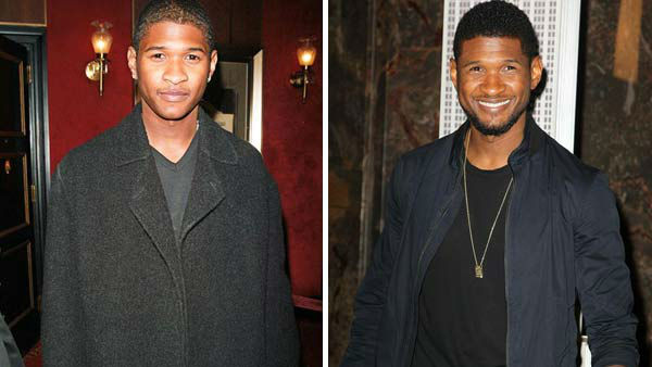 Usher first hit the music scene in 1994 with a self-titled debut album, but it was not until 1997 with the release of the album &#39;My Way&#39; that saw Usher turn into a full-fledged music star, thanks to hit singles such as &#39;You Make Me Wanna&#39; and &#39;Nice and Slow.&#39; Usher followed the success with the 2001 album &#39;8701,&#39; referencing the LP&#39;s release date, which contained the hits &#39;U Remind Me,&#39; &#39;U Got It Bad&#39; and &#39;U Don&#39;t Have to Call.&#39;  In 2004, Usher released the biggest selling album of his career, &#39;Confessions,&#39; which featured the hit singles &#39;Yeah!,&#39; &#39;Confessions Part II&#39; and &#39;Burn.&#39; The album earned the singer numerous awards, including several GRAMMY awards. Usher waited to follow the success of &#39;Confessions&#39; until 2009, with the release of &#39;Here I Stand,&#39; 2010&#39;s &#39;Raymond vs. Raymond,&#39; 2011&#39;s &#39;Versus&#39; EP and 2012&#39;s &#39;Looking 4 Myself.&#39;  Usher previously dated TLC&#39;s Rozanda &#39;Chilli&#39; Thomas before marrying Tameka Foster in 2007. The couple, who divorced in 2009, have two sons together, Usher V and Naviyd. In 2013, Usher joined the coaching panel on NBC&#39;s &#39;The Voice,&#39; alongside Adam Levine, Blake Shelton and fellow newcomer Shakira, replacing CeeLo Green and Christina Aguilera respectively. He will return for the show&#39;s sixth season in 2014.   &#40;Pictured: Left -- Usher appears in New York City on Jan. 22, 1998. Right -- Usher appears at the 37th annual Macy&#39;s 4th of July Fireworks celebration in New York City on July 3, 2013.&#41;  <span class=meta>(Startraks &#47; Amanda Schwab &#47; startraksphoto.com)</span>
