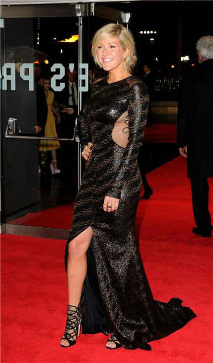 "<div class=""meta ""><span class=""caption-text "">Ellie Goulding appears at 'The Hunger Games: Catching Fire' U.K. premiere on Nov. 11, 2013. (Richard Young / startraksphoto.com)</span></div>"