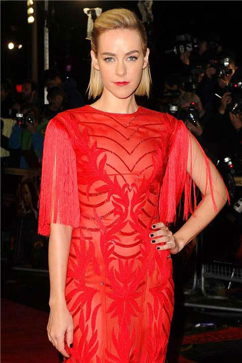 "<div class=""meta ""><span class=""caption-text "">Jena Malone appears at 'The Hunger Games: Catching Fire' U.K. premiere on Nov. 11, 2013. (Richard Young / startraksphoto.com)</span></div>"