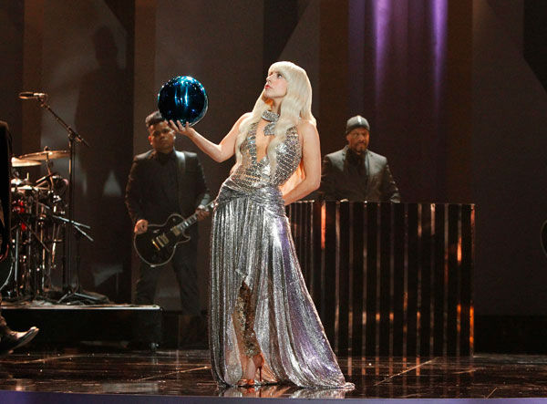 "<div class=""meta ""><span class=""caption-text "">Lady Gaga appears in a promotional photo for 'Lady Gaga and The Muppets' Holiday Spectacular,' which airs on ABC on Nov. 28, 2013. (ABC Photo / Rick Rowell)</span></div>"