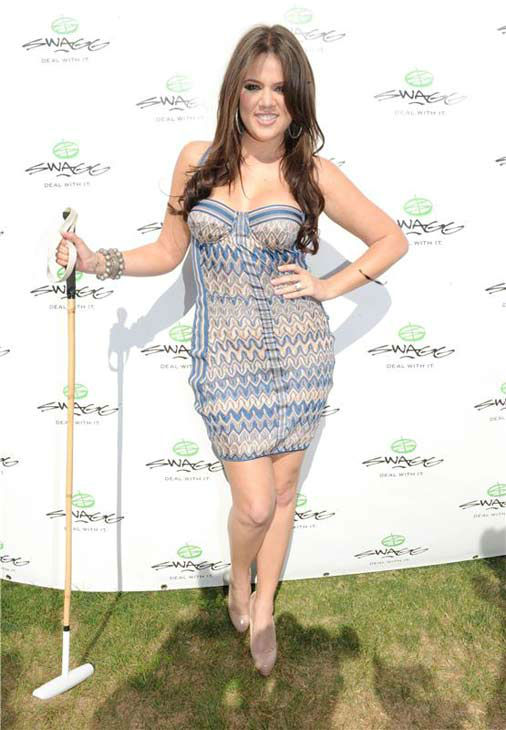 Khloe Kardashian appears at the Bridgehampton Polo Club in New York on Aug. 14, 2010.  <span class=meta>(Seth Browarnik &#47; startraksphoto.com)</span>