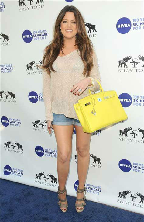 Khloe Kardashian appears at a Nivea event in Los Angeles, California on June 18, 2011. <span class=meta>(Sara De Boer &#47; startraksphoto.com)</span>