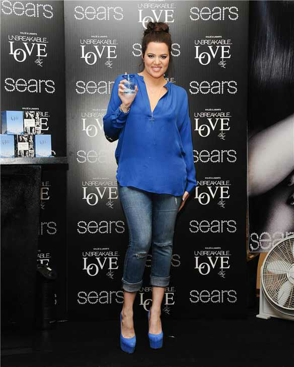 "<div class=""meta ""><span class=""caption-text "">Khloe Kardashian appears at Sears in Downey, California to promote the fragrance 'Unbreakable Love' on Feb. 8, 2013.  (Giulio Marcocchi / startraksphoto.com)</span></div>"