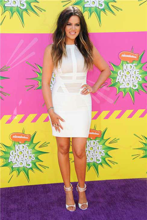 Khloe Kardashian appears at the 2013 Kids&#39; Choice Awards in Los Angeles, California on March 23, 2013.  <span class=meta>(Kyle Rover &#47; startraksphoto.com)</span>