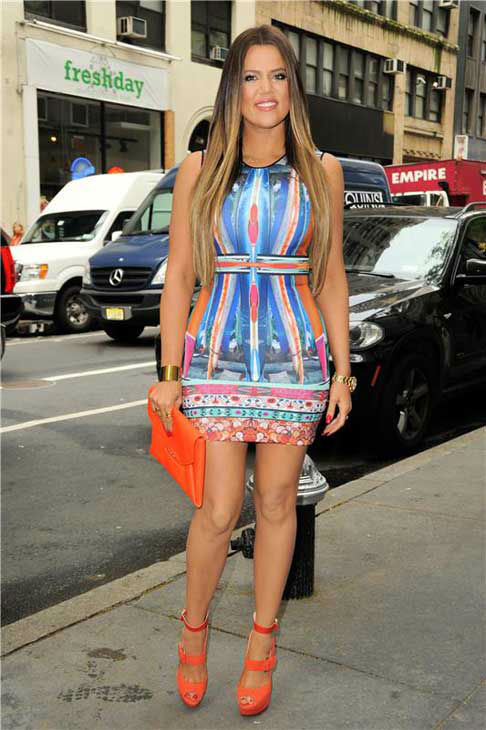 Khloe Kardashian appears at a taping of the &#39;Today&#39; show in New York City on May 29, 2013.  <span class=meta>(Ken Katz &#47; startraksphoto.com)</span>