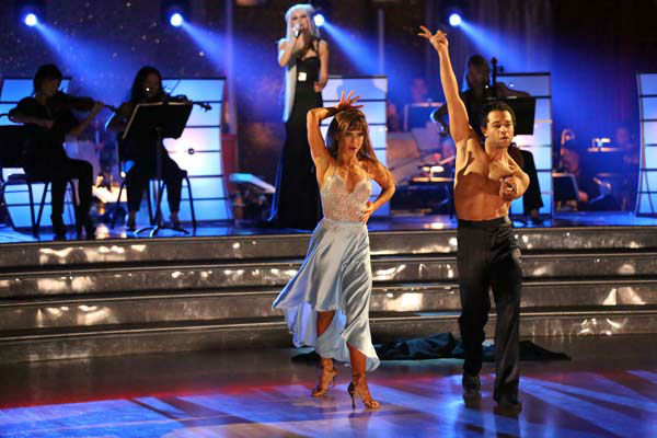 Corbin Bleu and Karina Smirnoff dance the Rumba on week 10 of &#39;Dancing With The Stars&#39; on Nov. 18, 2013. They received 40 out of 40 points from the judges. The two received 35 out of 40 for their first routine, a Tango. <span class=meta>(ABC Photo&#47; Adam Taylor)</span>