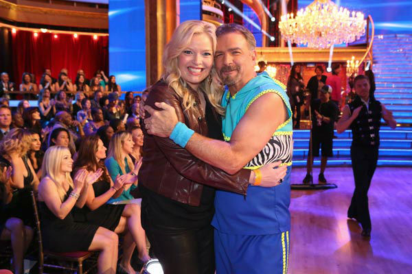 "<div class=""meta image-caption""><div class=""origin-logo origin-image ""><span></span></div><span class=""caption-text"">Bill Engvall and Melissa Peterman appear in a still from 'Dancing With The Stars' on Nov. 18, 2013. (ABC Photo/ Adam Taylor)</span></div>"