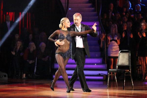 Bill Engvall and Emma Slater dance the Argentine Tango on week 10 of &#39;Dancing With The Stars&#39; on Nov. 18, 2013. They received 32 out of 40 points from the judges. The two received 28 out of 40 for their first routine, a Cha Cha Cha. <span class=meta>(ABC Photo&#47; Adam Taylor)</span>