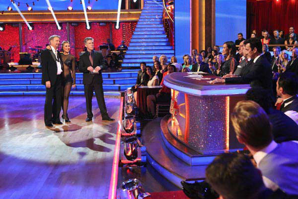 Bill Engvall and Emma Slater danced the Argentine Tango on week 10 of &#39;Dancing With The Stars&#39; on Nov. 18, 2013. They received 32 out of 40 points from the judges. The two received 28 out of 40 for their first routine, a Cha Cha Cha. <span class=meta>(ABC Photo&#47; Adam Taylor)</span>