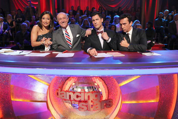 "<div class=""meta image-caption""><div class=""origin-logo origin-image ""><span></span></div><span class=""caption-text"">Maksim Chmerkovskiy appears as a guest judge on week 10 of 'Dancing With The Stars' on Nov. 18, 2013. (ABC Photo/ Adam Taylor)</span></div>"