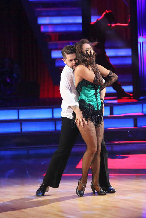 "<div class=""meta image-caption""><div class=""origin-logo origin-image ""><span></span></div><span class=""caption-text"">Jack Osbourne and Cheryl Burke perform a Jazz routine on week 10 of 'Dancing With The Stars' on Nov. 18, 2013. They received 33 out of 40 points from the judges. The two later received 38 out of 40 for their second routine, an Argentine Tango. (ABC Photo/ Adam Taylor)</span></div>"