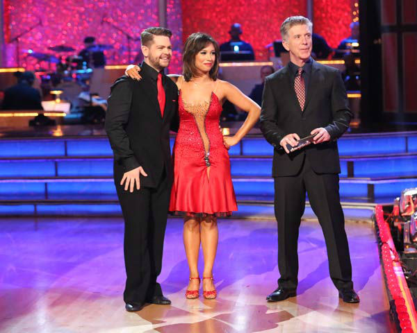 Jack Osbourne and Cheryl Burke danced the Argentine Tango on week 10 of &#39;Dancing With The Stars&#39; on Nov. 18, 2013. They received 38 out of 40 points from the judges. The two received 33 out of 40 for their first routine, a Jazz performance. <span class=meta>(ABC Photo&#47; Adam Taylor)</span>