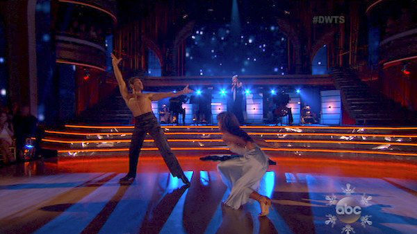 Corbin Bleu and Karina Smirnoff dance the Rumba on week 10 of &#39;Dancing With The Stars&#39; on Nov. 18, 2013. They received 40 out of 40 points from the judges. The two received 35 out of 40 for their first routine, a Tango. <span class=meta>(ABC)</span>