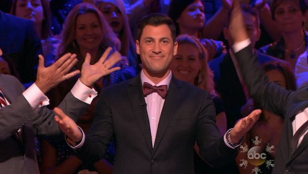 "<div class=""meta ""><span class=""caption-text "">Maksim Chmerkovskiy appears as a guest judge on week 10 of 'Dancing With The Stars' on Nov. 18, 2013. (ABC)</span></div>"