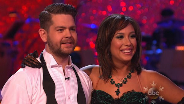 Jack Osbourne and Cheryl Burke performed a Jazz routine on week 10 of &#39;Dancing With The Stars&#39; on Nov. 18, 2013. They received 29 out of 40 points from the judges. The two later received 38 out of 40 for their second routine, an Argentine Tango. <span class=meta>(ABC)</span>