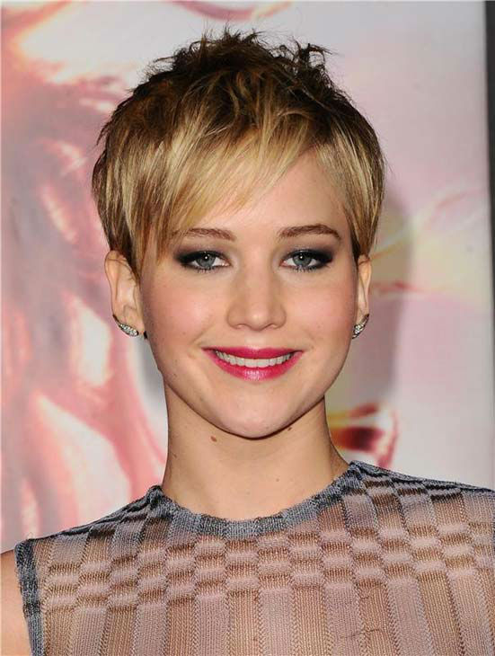 Jennifer Lawrence appears at the Los Angeles premiere of 'The Hunger Games: Catching Fire' on Nov. 18, 2013.