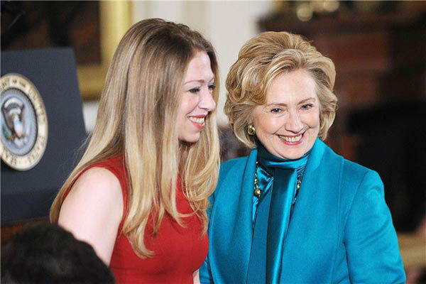 "<div class=""meta ""><span class=""caption-text "">Former Secretary of State Hillary Rodham Clinton and daughter Chelsea appear at the 2013 Presidential Medal Of Freedom ceremony on Wednesday, Nov. 20, 2013, in the East Room of the White House in Washington. (Olivier Douliery/AbacaUSA/startraksphoto.com)</span></div>"