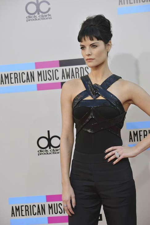 "<div class=""meta image-caption""><div class=""origin-logo origin-image ""><span></span></div><span class=""caption-text"">Jaimie Alexander arrives at the American Music Awards at the Nokia Theatre L.A. Live on Sunday, Nov. 24, 2013, in Los Angeles. (ABC Photo/Richard Harbaugh)</span></div>"