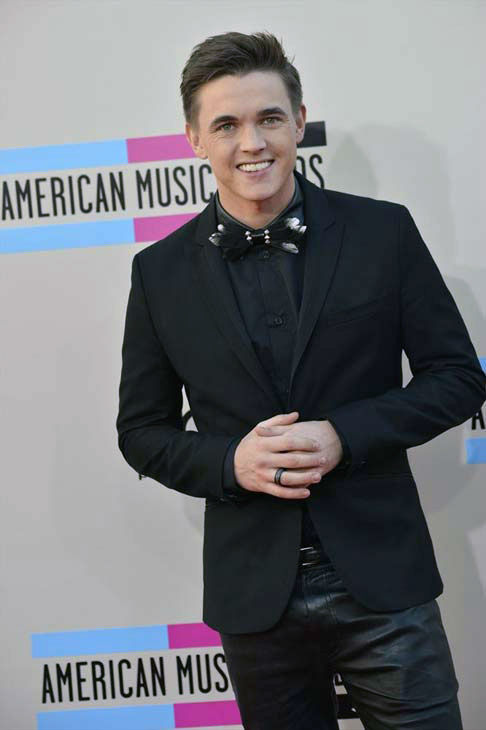 Jesse McCartney arrives at the American Music Awards at the Nokia Theatre L.A. Live on Sunday, Nov. 24, 2013, in Los Angeles.