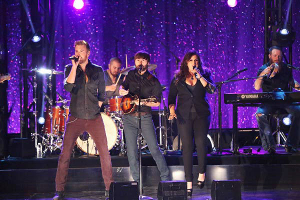 Lady Antebellum performed 'Compass' on the season 17 finale of 'Dancing With The Stars' on Nov. 26, 2013.