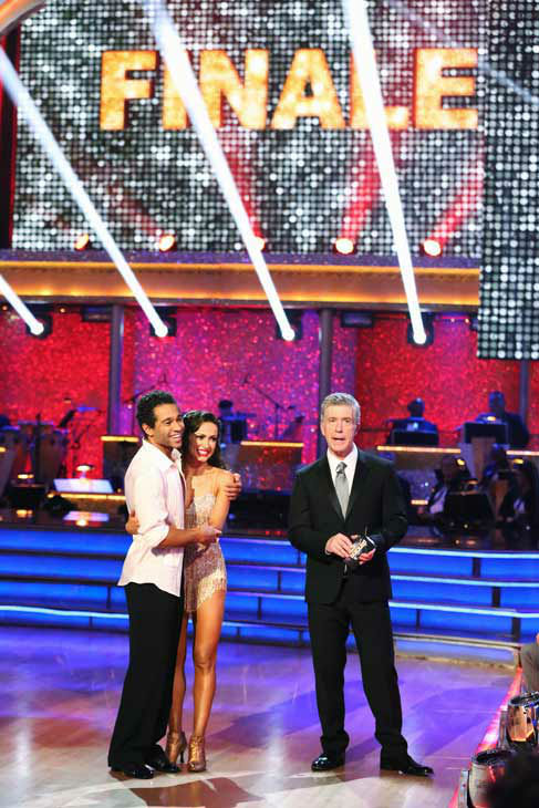 Corbin Bleu and Karina Smirnoff perform their Cha Cha Cha and Foxtrot fusion dance on the season 17 finale of &#39;Dancing With The Stars&#39; on Nov. 26, 2013. They received 27 out of 30 points from the judges. The two scored a total of 89 out of 95 points for both nights. <span class=meta>(ABC Photo&#47; Adam Taylor)</span>