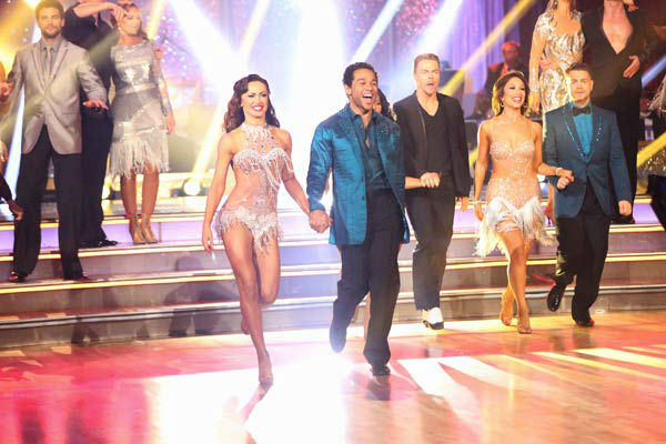"<div class=""meta ""><span class=""caption-text "">The entire celebrity cast returned for the season 17 finale of 'Dancing With The Stars' on Nov. 26, 2013. (ABC Photo/ Adam Taylor)</span></div>"