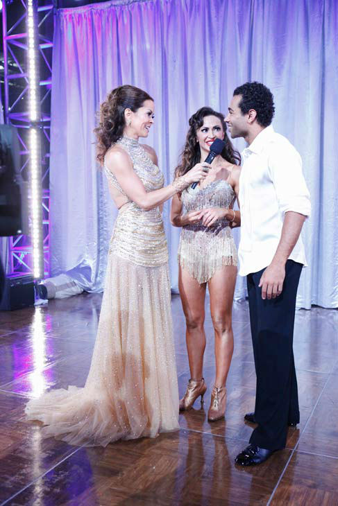 Corbin Bleu and Karina Smirnoff appear in a still from &#39;Dancing With The Stars&#39; on Nov. 26, 2013. <span class=meta>(ABC Photo&#47; Kelsey McNeal)</span>
