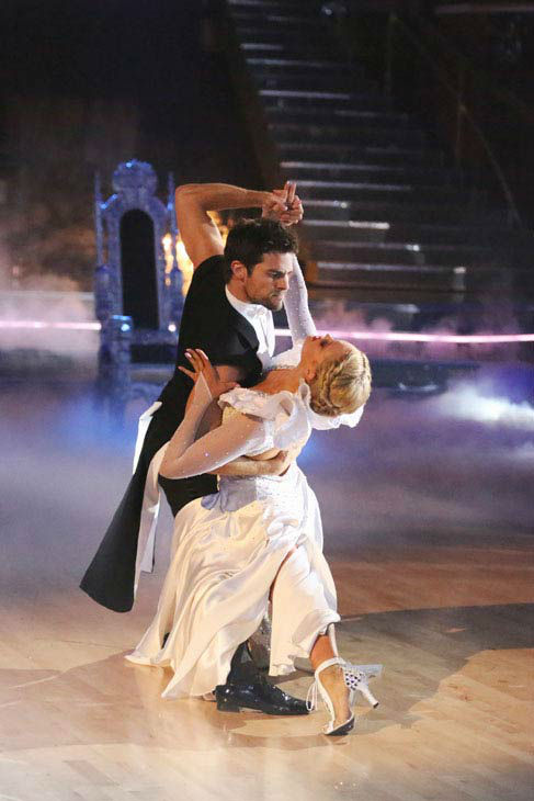 "<div class=""meta ""><span class=""caption-text "">Brant Daugherty and Peta Murgatroyd returned to the ballroom to perform on the season 17 finale of 'Dancing With The Stars' on Nov. 26, 2013. (ABC Photo/ Adam Taylor)</span></div>"