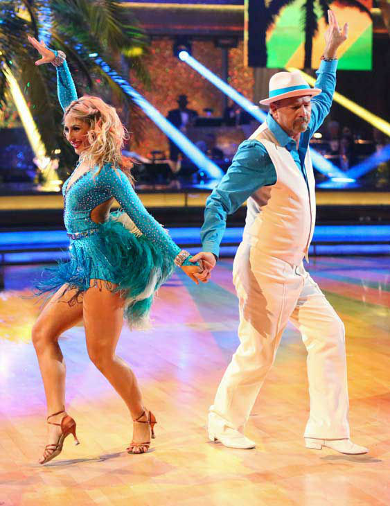 "<div class=""meta ""><span class=""caption-text "">Bill Engvall and Emma Slater returned to the ballroom to perform on the season 17 finale of 'Dancing With The Stars' on Nov. 26, 2013. (ABC Photo/ Adam Taylor)</span></div>"