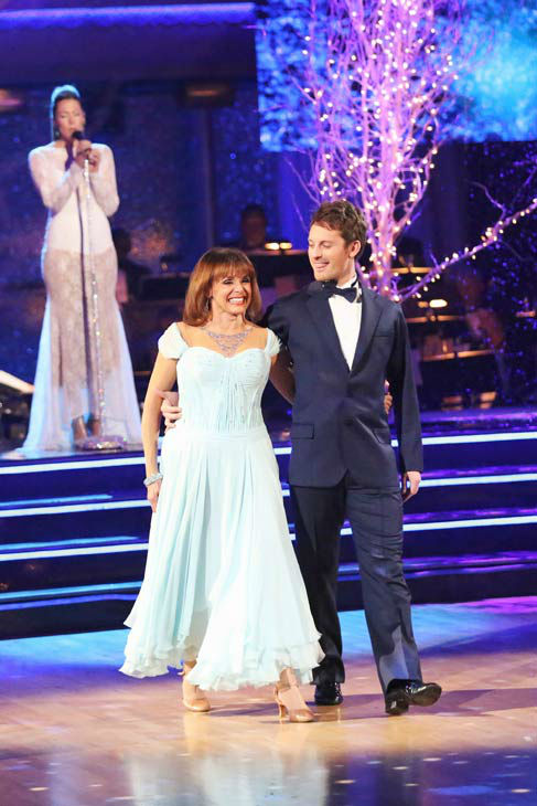 "<div class=""meta ""><span class=""caption-text "">Valerie Harper and Tristan MacManus returned to the ballroom to perform on the season 17 finale of 'Dancing With The Stars' on Nov. 26, 2013. (ABC Photo/ Adam Taylor)</span></div>"