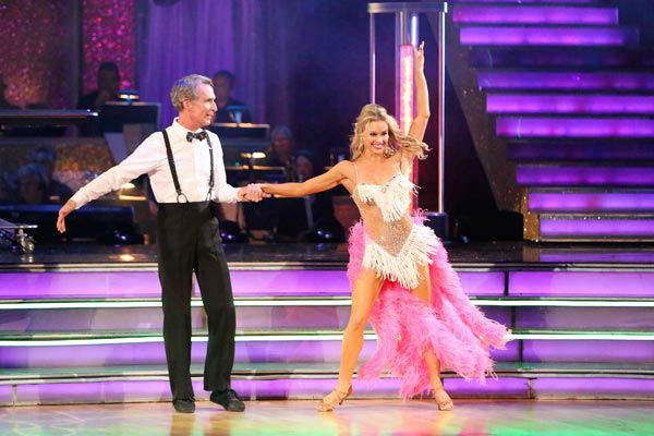 "<div class=""meta image-caption""><div class=""origin-logo origin-image ""><span></span></div><span class=""caption-text"">Bill Nye and Tyne Stecklein returned to the ballroom to perform on the season 17 finale of 'Dancing With The Stars' on Nov. 26, 2013. (ABC Photo/ Adam Taylor)</span></div>"