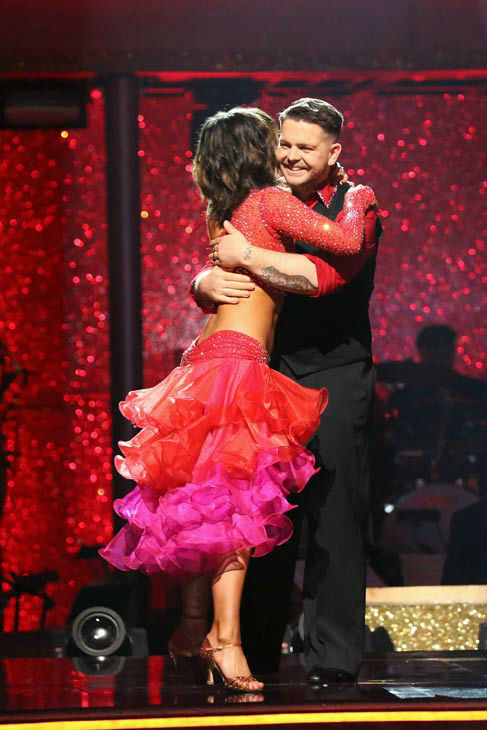 Jack Osbourne and Cheryl Burke react to coming in third place on the season 17 of &#39;Dancing With The Stars&#39; on Nov. 26, 2013. The two scored a total of 84 out of 95 points for both nights. <span class=meta>(ABC Photo&#47; Adam Taylor)</span>