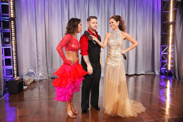 Jack Osbourne and Cheryl Burke appear in a still from &#39;Dancing With The Stars&#39; on Nov. 26, 2013. <span class=meta>(ABC Photo&#47; Kelsey McNeal)</span>