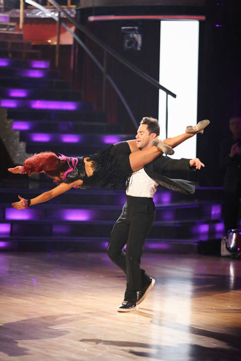 "<div class=""meta image-caption""><div class=""origin-logo origin-image ""><span></span></div><span class=""caption-text"">Nicole 'Snooki' Polizzi and Sasha Farber returned to the ballroom to perform on the season 17 finale of 'Dancing With The Stars' on Nov. 26, 2013. (ABC Photo/ Adam Taylor)</span></div>"