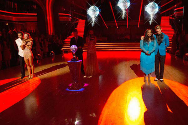 "<div class=""meta image-caption""><div class=""origin-logo origin-image ""><span></span></div><span class=""caption-text"">Corbin Bleu, Karina Smirnoff, Amber Riley and Derek Hough await their fate on the season 17 finale of 'Dancing With The Stars' on Nov. 26, 2013. (ABC Photo/ Adam Taylor)</span></div>"