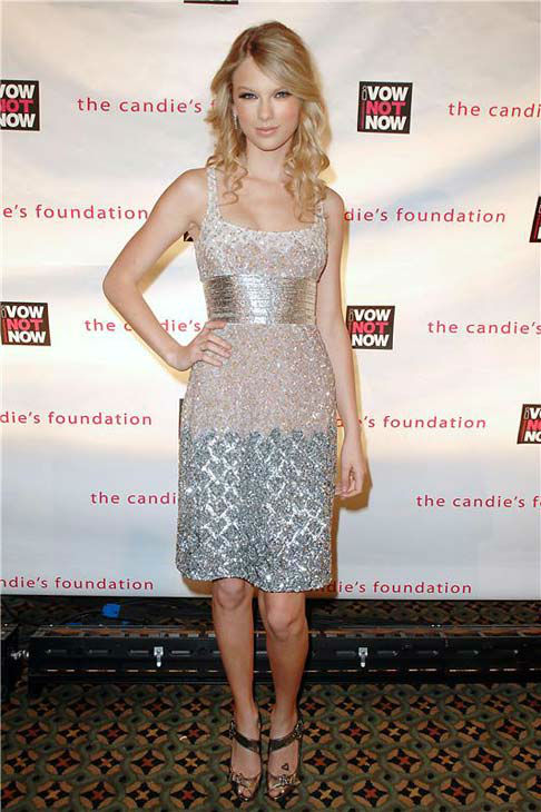 Taylor Swift appears at the Candie&#39;s Foundation Event to Prevent Benefit in New York City on May 7, 2008.  <span class=meta>(Humberto Carreno &#47; startraksphoto.com)</span>