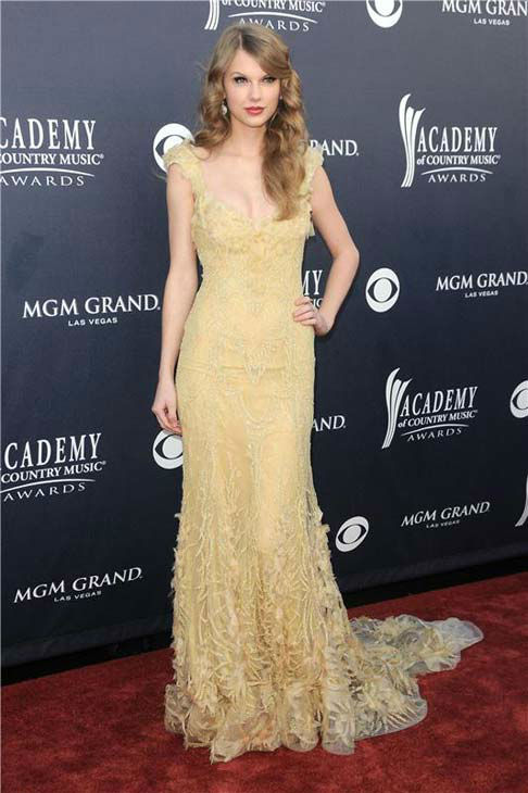 "<div class=""meta ""><span class=""caption-text "">Taylor Swift appears at the 46th annual Academy of Country Music Awards in Las Vegas, Nevada on April 3, 2011.  (Kyle Rover / startraksphoto.com)</span></div>"